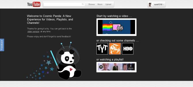 Cosmic Panda!